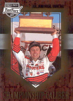 2011 Press Pass FanFare Championship Caliber #CC10 Alan Kulwicki
