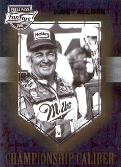 2011 Press Pass FanFare Championship Caliber #CC14 Bobby Allison