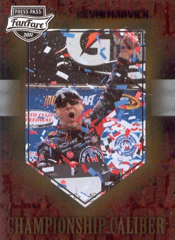2011 Press Pass FanFare Championship Caliber #CC26 Kevin Harvick