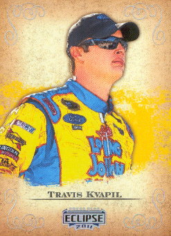 2011 Press Pass Eclipse #18 Travis Kvapil