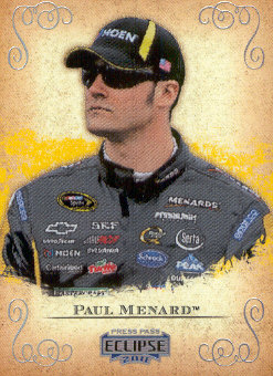2011 Press Pass Eclipse #23 Paul Menard