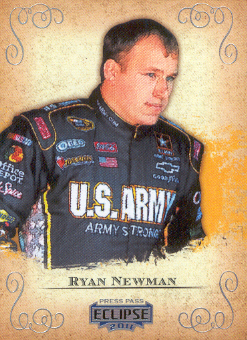 2011 Press Pass Eclipse #25 Ryan Newman