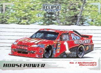 2011 Press Pass Eclipse #34 Jamie McMurray's Car HP