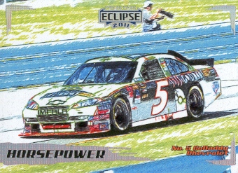 2011 Press Pass Eclipse #35 Mark Martin's Car HP