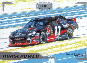 2011 Press Pass Eclipse #37 Denny Hamlin's Car HP