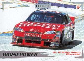 2011 Press Pass Eclipse #38 Tony Stewart's Car HP