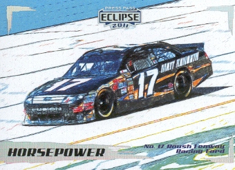 2011 Press Pass Eclipse #40 Matt Kenseth's Car HP