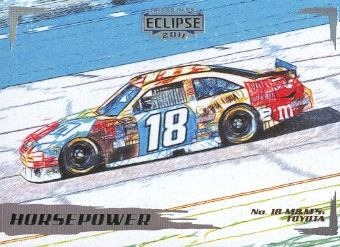 2011 Press Pass Eclipse #41 Kyle Busch's Car HP