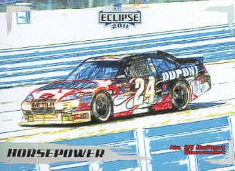 2011 Press Pass Eclipse #43 Jeff Gordon's Car HP