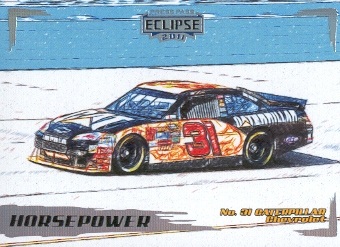2011 Press Pass Eclipse #44 Jeff Burton's Car HP