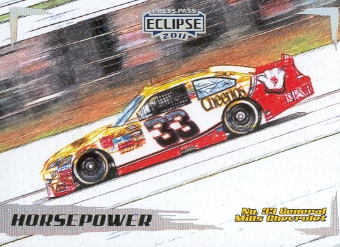 2011 Press Pass Eclipse #45 Clint Bowyer's Car HP
