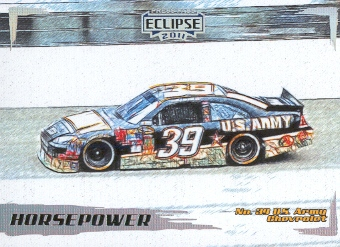 2011 Press Pass Eclipse #46 Ryan Newman's Car HP