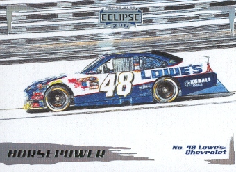 2011 Press Pass Eclipse #47 Jimmie Johnson's Car HP