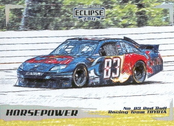 2011 Press Pass Eclipse #49 Brian Vickers' Car HP