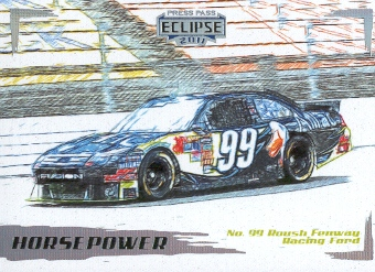 2011 Press Pass Eclipse #51 Carl Edwards' Car HP
