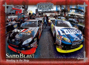 2011 Press Pass Eclipse #71 Denny Hamlin/Jimmie Johnson