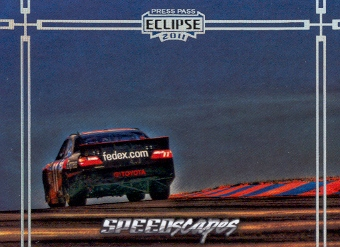 2011 Press Pass Eclipse #74 Denny Hamlin's Car SS