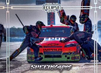 2011 Press Pass Eclipse #76 Jeff Gordon's Car SS