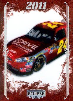 2011 Press Pass Eclipse #90 Jeff Gordon 2011