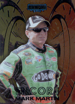 2011 Press Pass Eclipse Encore #E7 Mark Martin