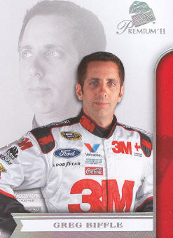 2011 Press Pass Premium #4 Greg Biffle