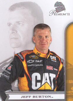 2011 Press Pass Premium #6A Jeff Burton