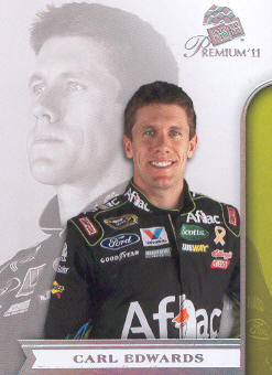 2011 Press Pass Premium #10A Carl Edwards