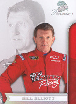 2011 Press Pass Premium #11 Bill Elliott