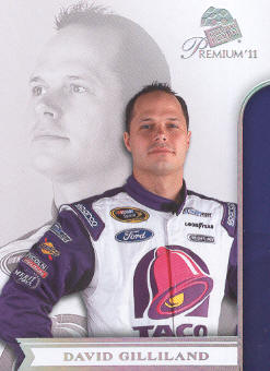 2011 Press Pass Premium #12 David Gilliland