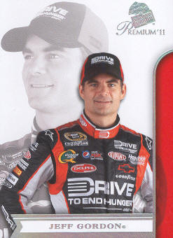 2011 Press Pass Premium #13A Jeff Gordon