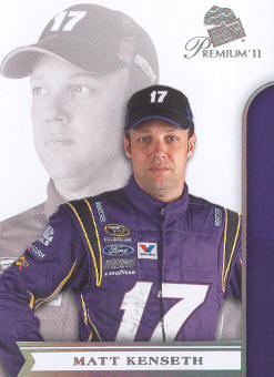 2011 Press Pass Premium #19 Matt Kenseth
