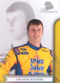 2011 Press Pass Premium #21 Travis Kvapil
