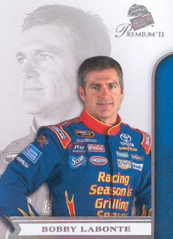 2011 Press Pass Premium #22 Bobby Labonte
