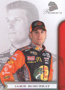 2011 Press Pass Premium #25 Jamie McMurray