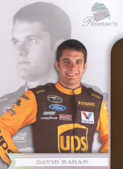 2011 Press Pass Premium #30 David Ragan