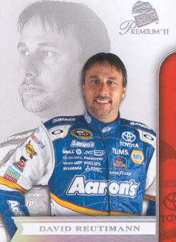 2011 Press Pass Premium #31 David Reutimann