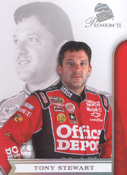2011 Press Pass Premium #33A Tony Stewart
