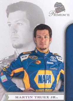 2011 Press Pass Premium #34 Martin Truex Jr.