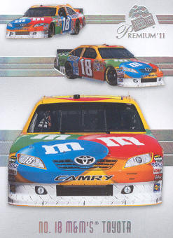 2011 Press Pass Premium #37 Kyle Busch's Car M