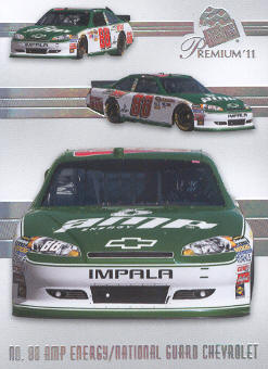 2011 Press Pass Premium #38 Dale Earnhardt Jr.'s Car M