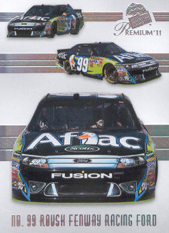2011 Press Pass Premium #44 Carl Edwards' Car M front image