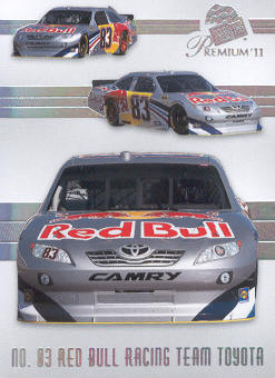 2011 Press Pass Premium #46 Brian Vickers' Car M