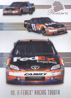 2011 Press Pass Premium #47 Denny Hamlin's Car M