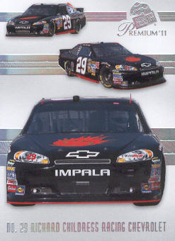 2011 Press Pass Premium #48 Kevin Harvick's Car M