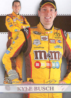 2011 Press Pass Premium #58 Kyle Busch SU