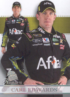 2011 Press Pass Premium #60 Carl Edwards SU front image