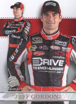 2011 Press Pass Premium #61 Jeff Gordon SU