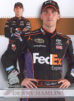 2011 Press Pass Premium #62 Denny Hamlin SU
