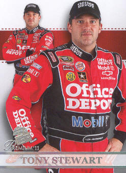 2011 Press Pass Premium #66 Tony Stewart SU