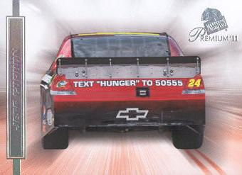 2011 Press Pass Premium #68 Jeff Gordon's Car DP